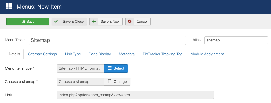 How To Create A Joomla Sitemap