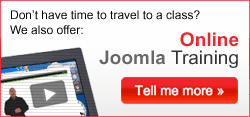 Online Joomla Training